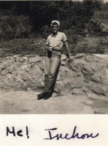 picture of my young dad in Inchon, South Korea